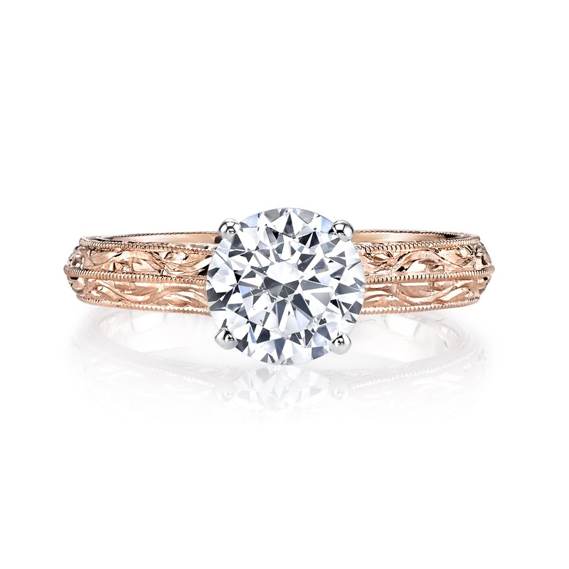 MARS 13179HE Solitaire Diamond Engagement Ring