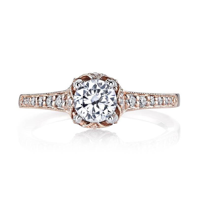 MARS 25802 Diamond Engagement Ring, 0.27 Ctw.