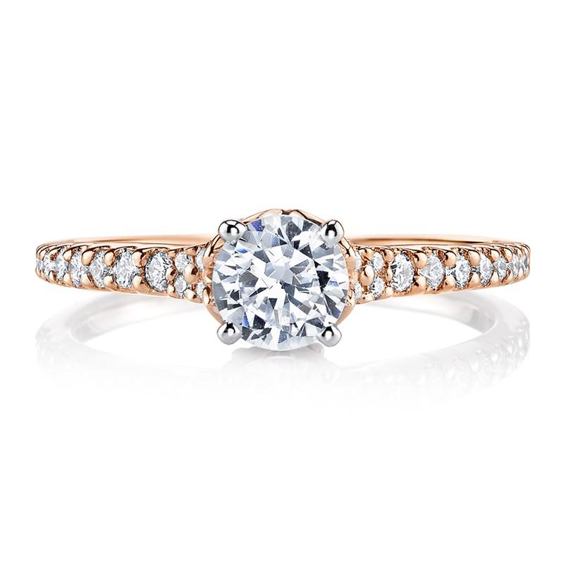 MARS 25817 Diamond Engagement Ring 0.29 Ctw.