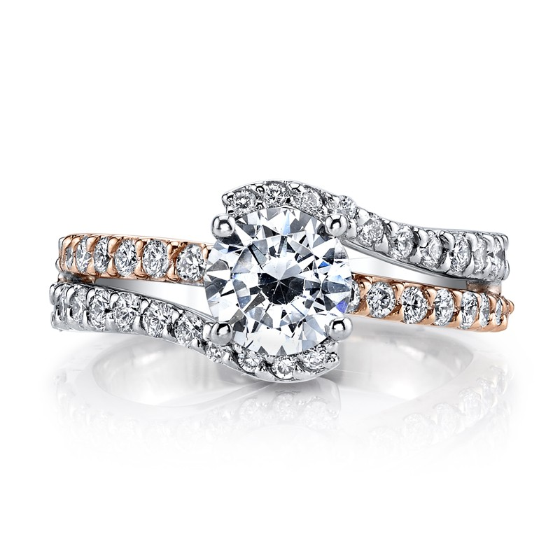 MARS A14 Diamond Engagement Ring 0.66 Ctw.