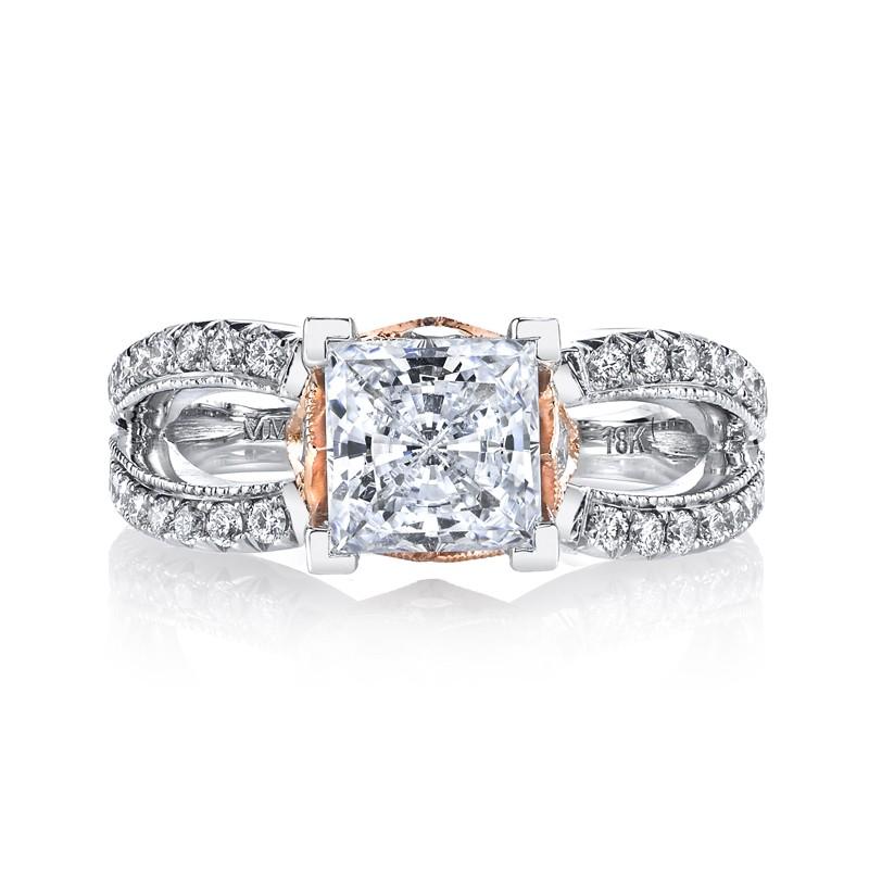 MARS R255 Diamond Engagement Ring, 0.70 Ctw.