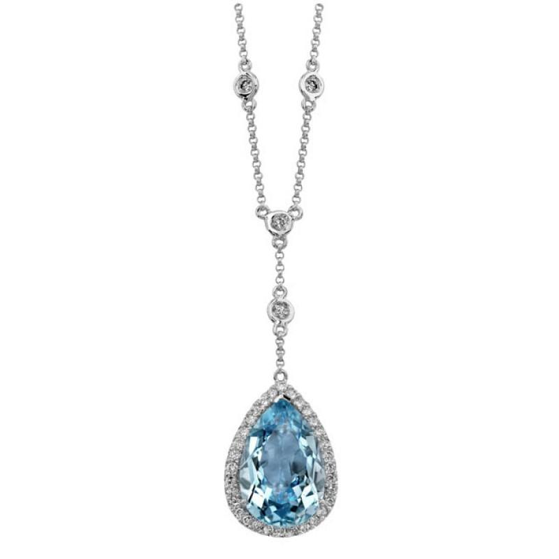 Natalie k 14k white gold sky blue topaz diamond 14k white gold sky blue topaz diamond necklace nk16943btpz w aloadofball Image collections
