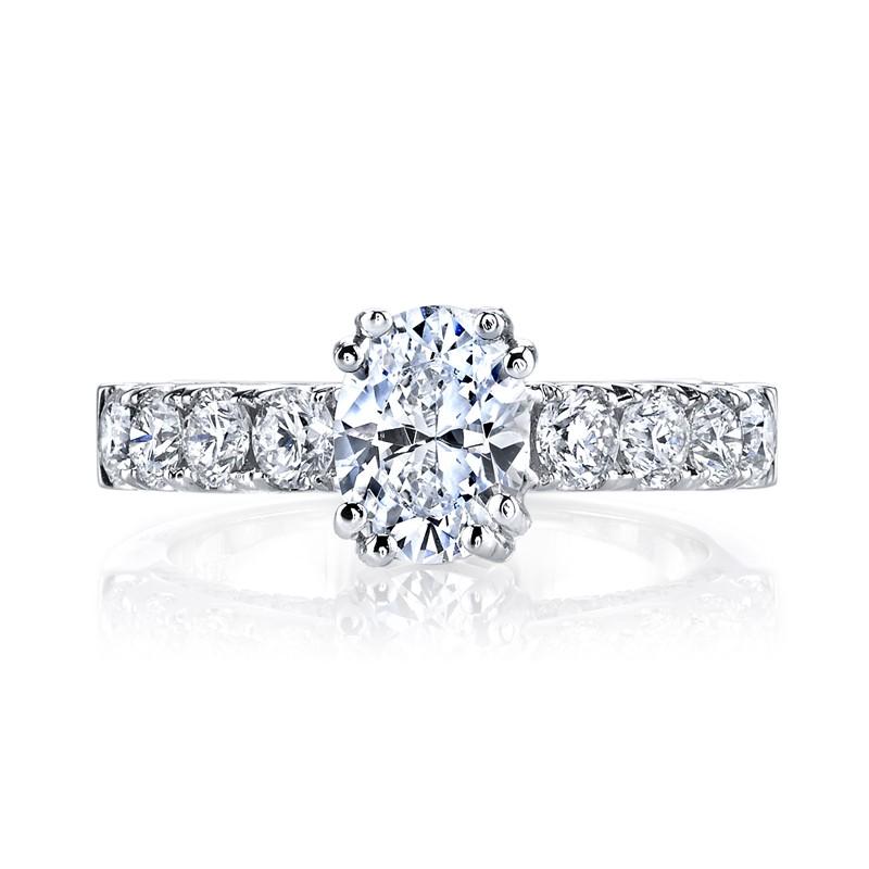 MARS 26254 Diamond Engagement Ring 1.27 Ctw.