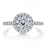 MARS 13813 Diamond Engagement Ring 0.34 Ctw.