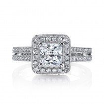 MARS 25014  Diamond Engagement Ring 0.42 Ctw.