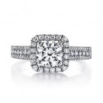 MARS 25126  Diamond Engagement Ring 0.52 Ctw.
