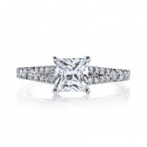 MARS 25134 Diamond Engagement Ring 0.57 Ctw.