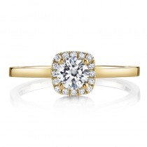 MARS 25150-R33-PS Diamond Engagement Ring 0.08 Ctw.