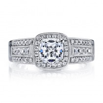 MARS 25225  Diamond Engagement Ring 0.36 Ctw.