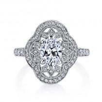 MARS 25262  Diamond Engagement Ring 0.43 Ctw.