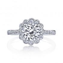 MARS 25329  Diamond Engagement Ring 0.60 Ctw.
