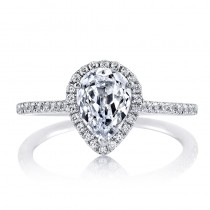 MARS 25467  Diamond Engagement Ring 0.30 Ctw.