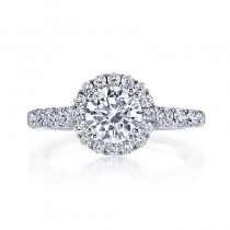 MARS 25571 Diamond Engagement Ring 0.74 Ctw.
