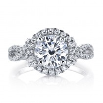 MARS 25588 Diamond Engagement Ring 0.51 Ctw.