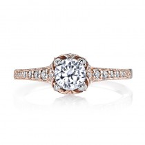 MARS 25802 Diamond Engagement Ring, 0.27 Ctw.
