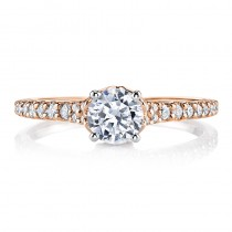MARS 25817 Diamond Engagement Ring 0.29 Ctw.