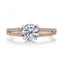MARS 25851 Diamond Engagement Ring 0.33 Ctw.