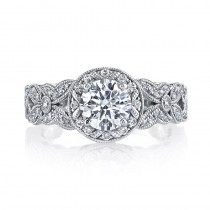 MARS 26007 Diamond Engagement Ring 0.42 Ctw.
