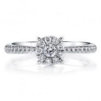 MARS 26160 Diamond Engagement Ring, 0.40 Ctw.