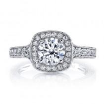 MARS 26169 Diamond Engagement Ring 0.82 Ctw.