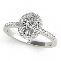 Halo Engagement Ring OV 83497-10X8