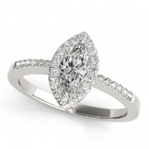 Halo Engagement Ring MQ 83532-10X5