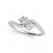 Overnight Mountings Two Stone Ring 84780-1