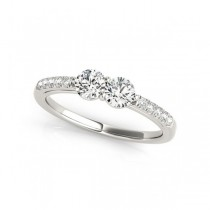 Overnight Mountings Two Stone Ring 84788-1