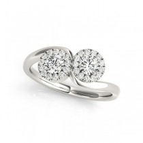 Overnight Mountings Two Stone Ring 84797-1