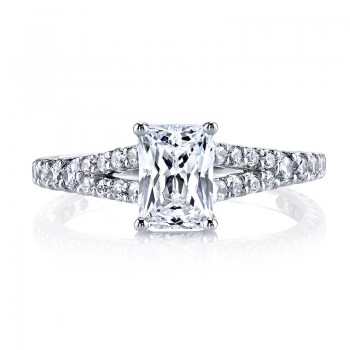 MARS 25139 Diamond Engagement Ring 0.57 Ctw.