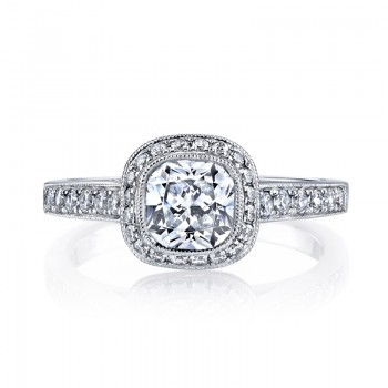 MARS 25400 Diamond Engagament Ring  0.40 Ctw.