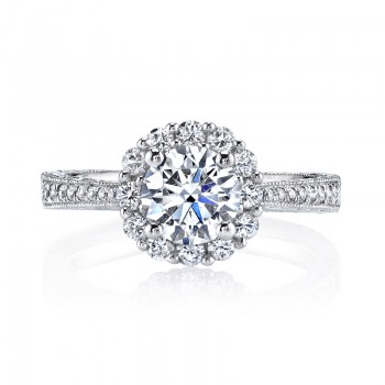 MARS 25586 Diamond Engagament Ring  0.55 Ctw.