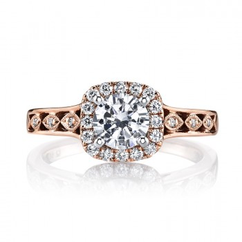 MARS 25833 Diamond Engagement Ring 0.24 Ctw.