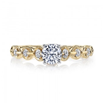MARS 25845 Diamond Engagement Ring 0.25 Ctw.