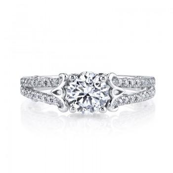MARS 26130 Diamond Engagement Ring, 0.50 Ctw.