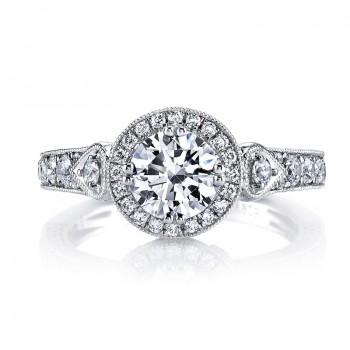 MARS 26170 Diamond Engagement Ring, 0.85 Ctw.