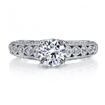 MARS 26176 Diamond Engagement Ring 0.62 Ctw.