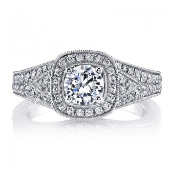 MARS 26207 Diamond Engagement Ring 0.48 Ctw.