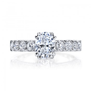 MARS 26254 Diamond Engagement Ring 1.27 Ctw.