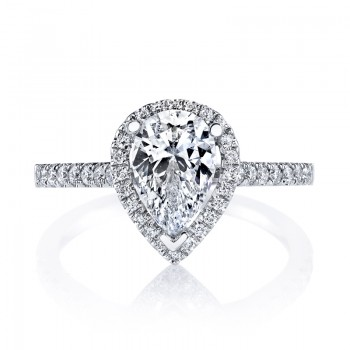 MARS 26502 Diamond Engagement Ring 0.28 Ctw.