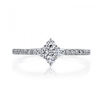 MARS 26564 Diamond Engagement Ring 0.42 Ctw.