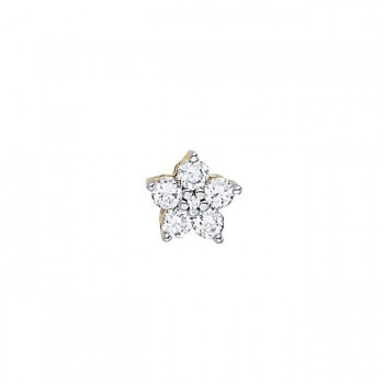 Pendant with Cluster Diamonds 31179