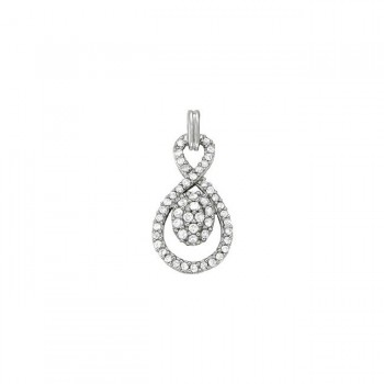 Pendant with Cluster Diamonds 32111