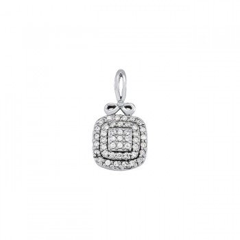 Pendant with Cluster Diamonds 32257