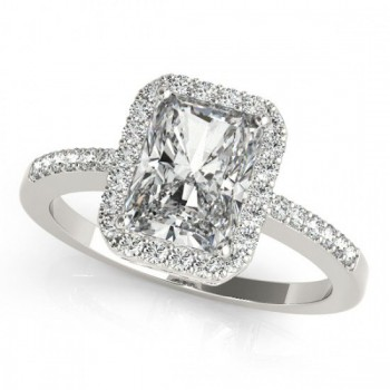 Halo Engagement Ring EC 83495