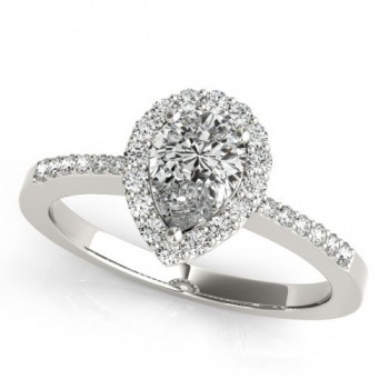 Halo Engagement Ring PS 83498