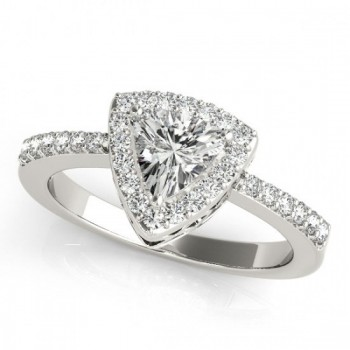 Halo Engagement Ring TR 83515-5