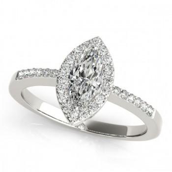 Halo Engagement Ring MQ 83532-10X5