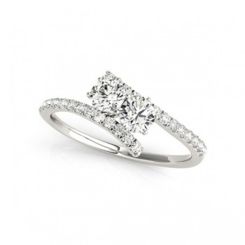 Overnight Mountings Two Stone Ring 84781-1