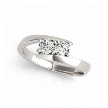 Overnight Mountings Two Stone Ring 84805-1